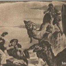 Postales: POSTAL 010271: VICH: RETORNO DEL JOVEN TOBIAS EN LA CATEDRAL DE VICH. Lote 218646830