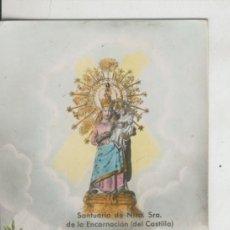 Postales: POSTAL 010281: SANTUARIO NTA SRA DE LA ENCARNACION DEL CASTILLO (CULLERA). Lote 218646836
