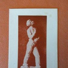 Cartes Postales: SANT JORDI. ESCULTURA DE FRANCESC GASSÓ. 23 D'ABRIL DEL 1952. Lote 218663675