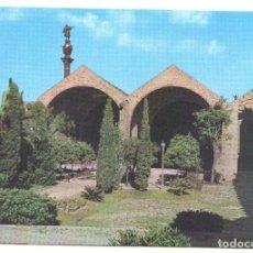 Postales: POSTAL JC0898: BARCELONA. ATARAZANAS Y MONUMENTO A COLON. Lote 218972482