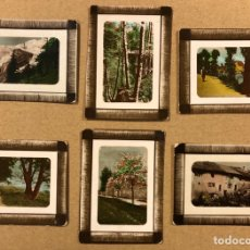 Postales: LOTE DE 6 ANTIGUAS MINI TARJETAS POSTALES HENRY CLAY AND BOCK & CO. LTD. HABANA.. Lote 220016563
