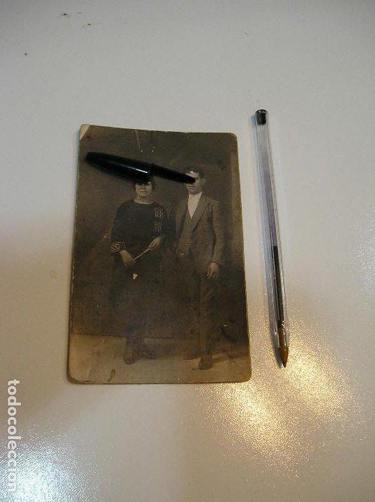 Postales: ANTIGUA TARJETA POSTAL CARTON MATRIMONIO FOTO ALEJANDRO QUILES CATARROJA (20-10-2) - Foto 2 - 221432597