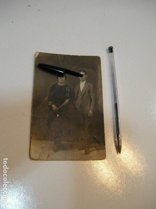 Postales: ANTIGUA TARJETA POSTAL CARTON MATRIMONIO FOTO ALEJANDRO QUILES CATARROJA (20-10-2) - Foto 3 - 221432597