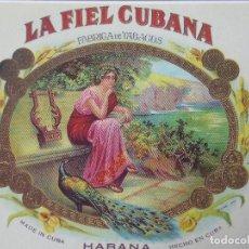 Postales: P-11582. PAREJA DE POSTALES DE FABRICAS DE TABACO CUBANAS. COLECCIÓN LA FIEL CUBANA. AÑOS 90. Lote 221930707