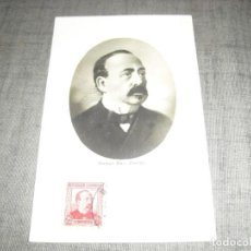 Cartes Postales: POSTAL MANUEL RUIZ ZORRILLA EVENTO POSTAL BARCELONA CIRCULADA II REPUBLICA. Lote 221957183