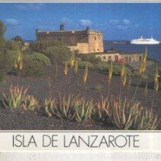 Postales: POSTAL 012431: CASTILLO DE SAN JOSE EN LANZAROTE. Lote 222514306