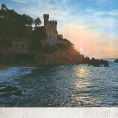 Postales: POSTAL 012433: AMANECER EN LLORET DE MAR, GERONA. Lote 222514313