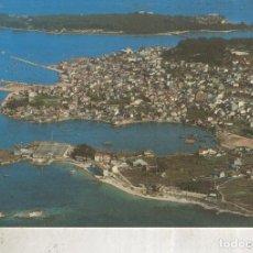 Postales: POSTAL 012450: VISTA AEREA DE EL GROVE CON LA ISLA DE LA TOJA, PONTEVEDRA. Lote 222514435