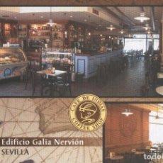 Postales: POSTAL 006062 : PUBLICITARIA CAFE DE INDIAS, EDIFICIO GALIA NERVION EN SEVILLA. Lote 222515050