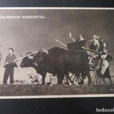 """Postales: POSTAL COLECCIÓN """"MUJERES DE LA FALANGE"""" HACIA NUEVOS HORIZONTES (F.6). NO CIRCULADA. Lote 222814627"""