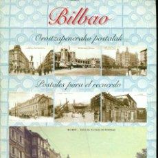 Postales: LOTE DE 84 POSTALES DE BILBAO, PUBLICADAS POR EL PERIODO DEIA. SERIE COMPLETA. Lote 223227717