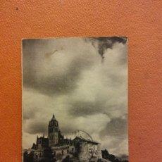 Cartoline: RINCONES SEGOVIANOS. NUBES. BONITA POSTAL. CIRCULADA. Lote 223247347
