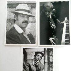 Postales: LOTE 6 POSTALES FAMOSOS BLANCO Y NEGRO (VER FOTOS). Lote 224209025