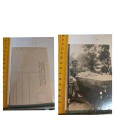 Postales: GALICIA - TARJETA POSTAL UNION UNIVERSAL DE CORREOS ,PONTEVEDRA 1927 MONDARIZ PIAS BALNEARIO. Lote 225045948