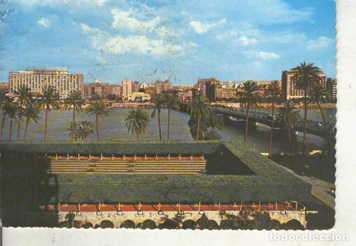 POSTAL 014675: PUENTE TAHRIR Y HOTEL HILTON DEL CAIRO, EGIPTO (Postales - Varios)