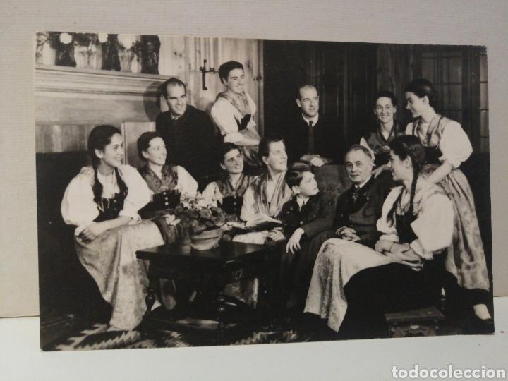 POSTAL FAMILIA TRAPP EN SU HOGAR EN STOWE, VERMONT (Postales - Varios)