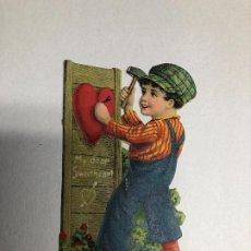Postales: POSTAL SAN VALENTIN 3D. AÑOS 30-40. MADE IN GERMANY. Lote 227780795