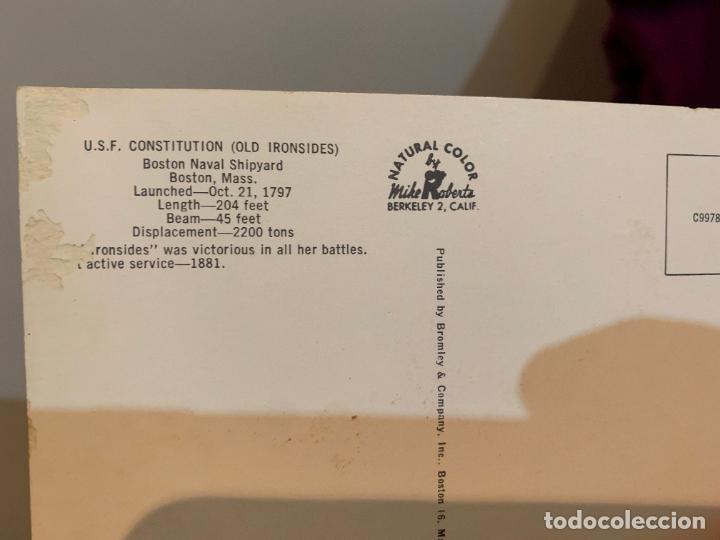 Postales: POSTAL DE UN BARCO DE MARINEROS CADETES DE LA MARINA - Foto 2 - 228197385