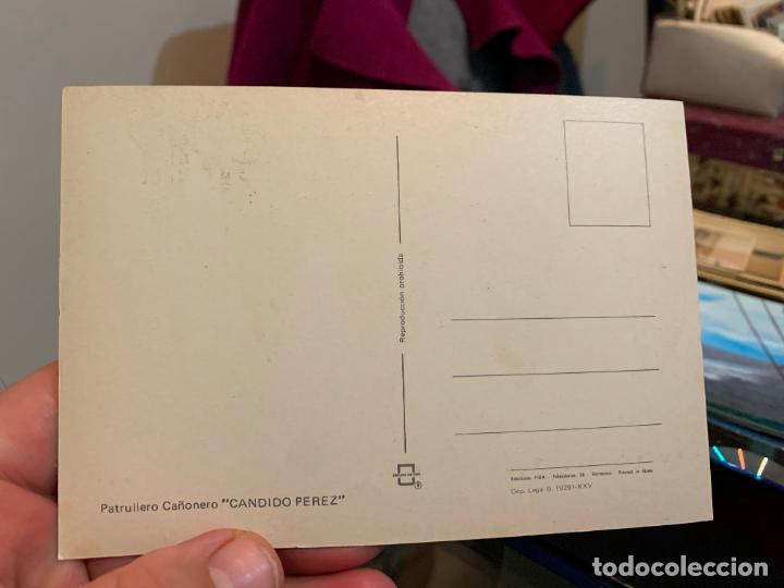 Postales: POSTAL DE UN BARCO DE GUERRA DE DESEMBARCO - Foto 2 - 228202015
