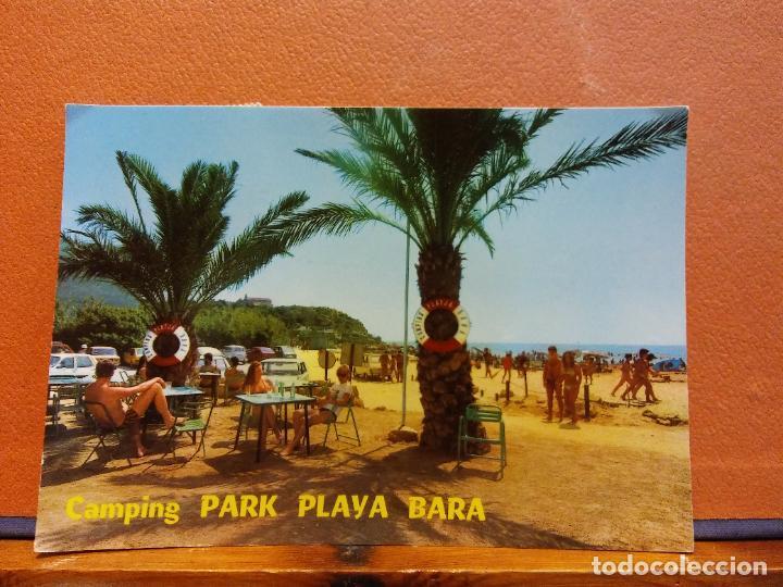 CAMPING PARK PLAYA BARA. BONITA POSTAL. CIRCULADA (Postales - Varios)