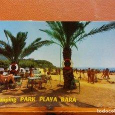 Cartoline: CAMPING PARK PLAYA BARA. BONITA POSTAL. CIRCULADA. Lote 229535465