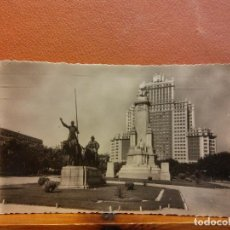 Cartoline: MADRID, PLAZA DE ESPAÑA. BONITA POSTAL. CIRCULADA. Lote 229537400