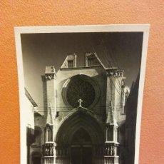 Cartoline: TARRAGONA. CATEDRAL FACHADA S. XII-XIII. BONITA POSTAL. CIRCULADA. Lote 229538005