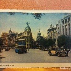 Postais: MADRID. CALLE DE ALCALÁ. BONITA POSTAL. CIRCULADA. Lote 229538540