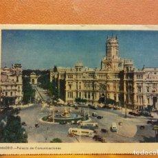 Postais: MADRID. PALACIO DE COMUNICACIONES. BONITA POSTAL. CIRCULADA. Lote 229538595