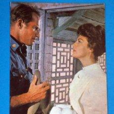 Cartes Postales: POSTAL. COLECCIÓN. PELÍCULAS FAMOSAS . CHARLTON HESTON. AÑO 1965. Lote 229728795