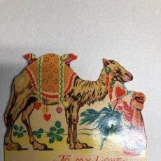 Postales: POSTAL SAN VALENTIN TROCHELADA. PRINTED IN GERMANY. AÑOS 30S. Lote 229783810