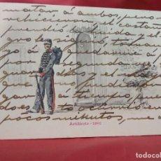 Cartoline: POSTAL MILITAR ARTILLERIE 1901. 1904. POSTAL-683. Lote 230045025