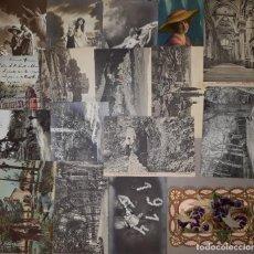 Postais: LOTE DE 17 POSTALES VARIADAS DE LA PRIMERA Y SEGUNDA DÉCADA DEL S.XX. CIRCULADAS. Lote 230672195