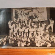 Postales: ANTIGUA POSTAL DE LA PEÑA LA JARANA DE PAMPLONA AÑO 1952. Lote 233415510