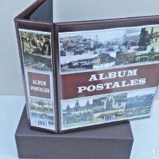 Postales: ALBUM BBB* TARJETAS POSTALES CON CAJETÍN Y 50 HOJAS PARA 200/400 POSTALES. Lote 234507350