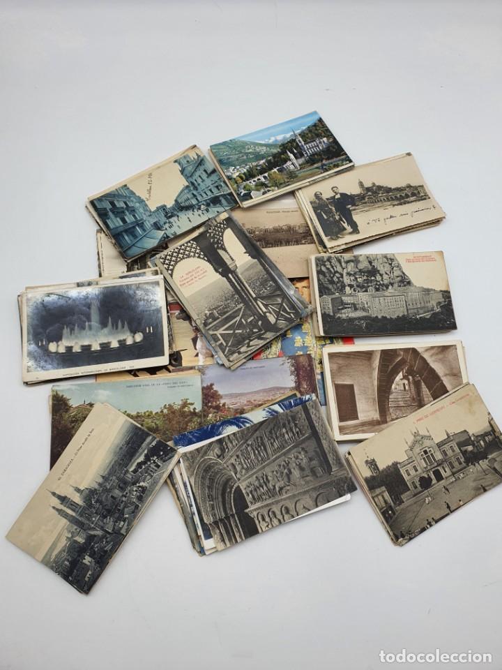 GRAN LOTE POSTALES ANTIGUAS ESPAÑA ( VER FOTOS ) (Postales - Varios)
