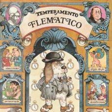 Postales: POSTAL - FLEMATICO - SERIE TEMPERAMENTOS - ED POSTERS DEL TIEMPO - 1983 - DIPTICO -VER FOTO INTERIOR. Lote 235854350