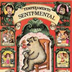 Postales: POSTAL - SENTIMENTAL SERIE TEMPERAMENTOS - ED POSTERS DEL TIEMPO - 1983 - DIPTICO -VER FOTO INTERIOR. Lote 235854575