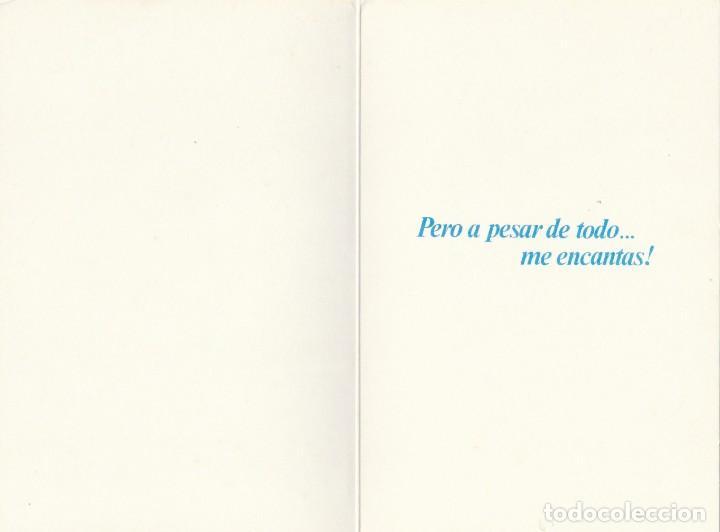Postales: POSTAL - SANGUINEO - SERIE TEMPERAMENTOS - ED POSTERS DEL TIEMPO - 1983 - DIPTICO -VER FOTO INTERIOR - Foto 2 - 235854730