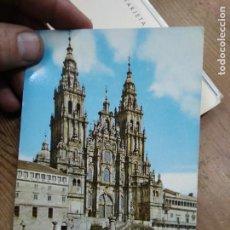 Postales: POSTAL Nº 2055 SANTIAGO DE COMPOSTELA CATEDRAL FACHADA DEL OBRADOIRO SIGLO XVIII. POSTAL-1934. Lote 236512435