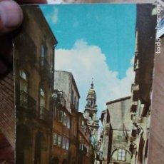 Postales: POSTAL Nº 9606 SERIE 11 SANTIAGO DE COMPOSTELA CALLE NUEVA. POSTAL-1935. Lote 236512780