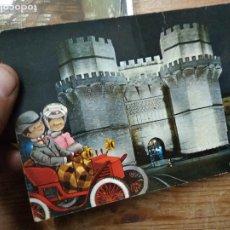 Postales: POSTAL Nº 151 VALENCIA TORRES DE SERRANOS, ILUMINADAS. POSTAL-1937. Lote 236513025