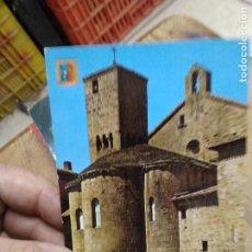 Postales: POSTAL Nº 11 MONASTERIO DE SAN SALVADOR DE LEYRE. YESA (NAVARRA). SIGLO XI. S/C. POSTAL-1938. Lote 236513315