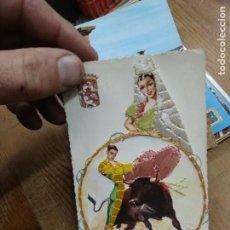 Postales: POSTAL ANDALUCÍA Nº 69 TORERO. CON TELA. POSTAL-1939. Lote 236513710