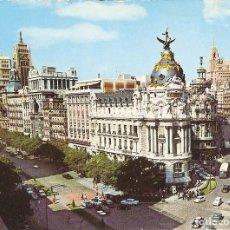 Postales: POSTAL 049566 : MADRID. CALLE DE ALCALA Y AVENIDA JOSE ANTONIO. Lote 236796810