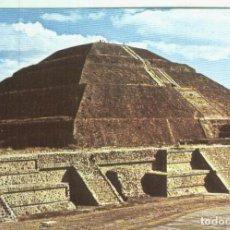Postales: POSTAL 000725: ARTE PRECOLOMBINO: PIRAMIDE DEL SOL-MEXICO. Lote 236852625