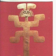 Postales: POSTAL 000812: ARTE PRECOLOMBINO: PECTORAL DE TOLIMA EN COLOMBIA. Lote 236852745