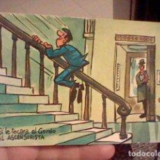 Postales: MINGOTE LOTERIAS 1969 SERIE E BARANDA SOBADAA. Lote 237582655