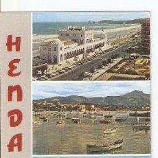 Postales: POSTAL 020515 : LE CASINO ET LA GRANDE PLLAGE, HENDAYE. Lote 237613765