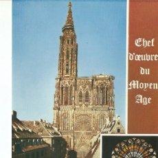 Postales: POSTAL 020519 : CATHEDRALE DE STRASBOURG. Lote 237613910